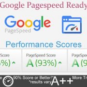 Top Google pagespeed scores